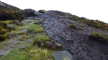 Slieve Gullion -vuori Pohjois-Irlannissa. Kuva: ASCENT