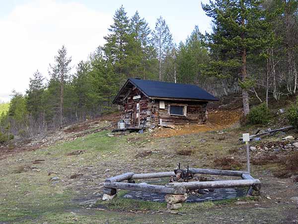 Rumakurun vanha tupa. Kuva: Siiri Tolonen / Metsähallitus