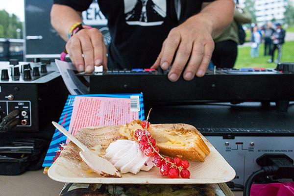 Linnanvirta Food Festivat. Kuva: Sini Salmirinne