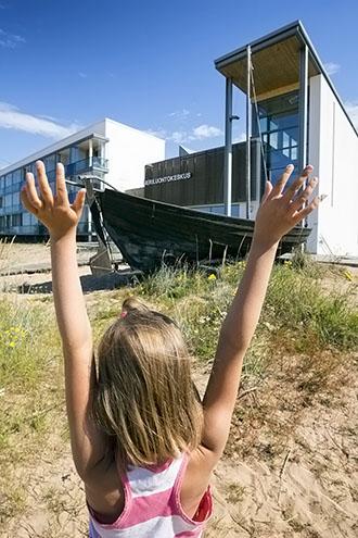 Kalajoen Meriluontokeskus. Kuva Kimmo Rampanen / Vastavalo.
