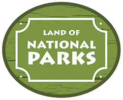 Land of National Parks logo