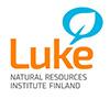 Logo of Luke Natural Resources Institute Finland.