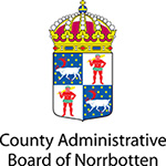 Logo of County Administrative Board of Norrbotten.