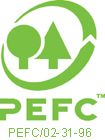 the logo of PEFC-certificate