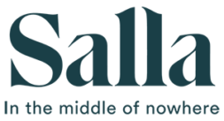 Logo of the municipality of Salla and its tourism promotion, Salla in the middle of nowhere.
