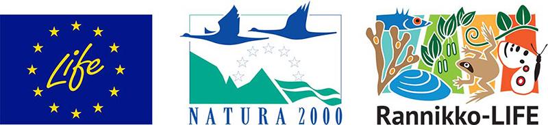 Euroopan unionin LIFE-rahaston, Natura 2000 -alueiden ja Rannikko-LIFE-hankkeen tunnukset