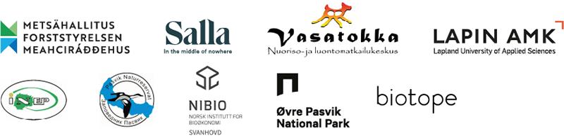 PAN-hankkeen kumppanien tunnuskuvat.